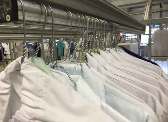 Lavado de ropa hospitalaria