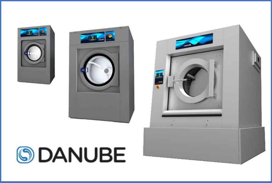 How an industrial washing machine works | Danube